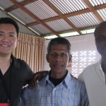 With Pastor Prasaud in Guyana and Mervin Roberts of Guyana