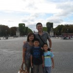 At the Champ Elysee in Paris
