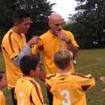 Co-coaching the awesome Galaxy (Team 3) soccer team